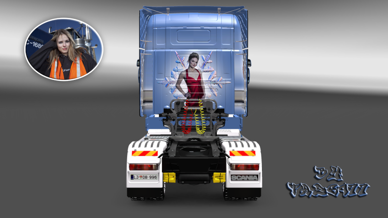SKIN : Scania T 1010Ch Sexy Lisa Ets2_021