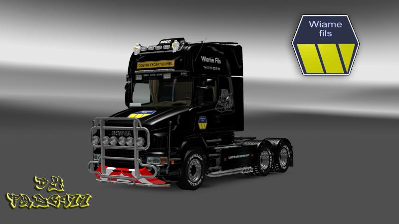 SKIN : Scania T Wiame Convoi Exceptionnel Ets2_026