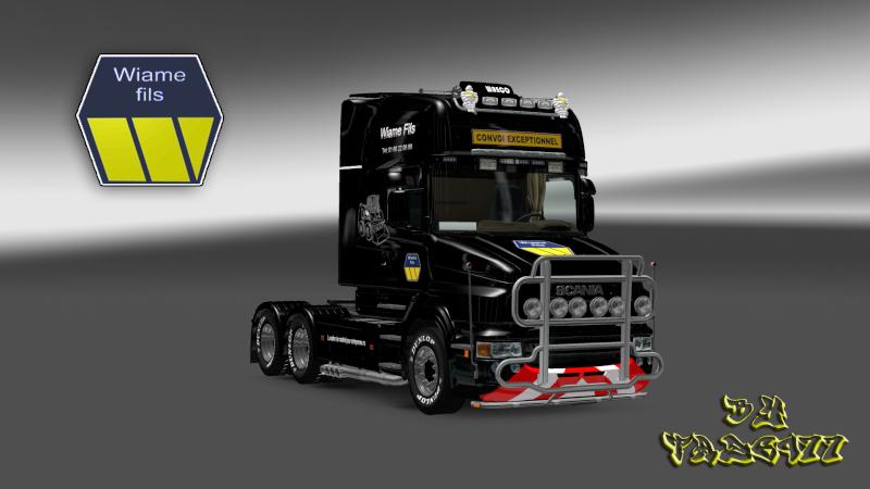 SKIN : Scania T Wiame Convoi Exceptionnel Ets2_027
