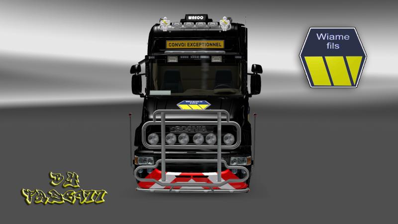 SKIN : Scania T Wiame Convoi Exceptionnel Ets2_028