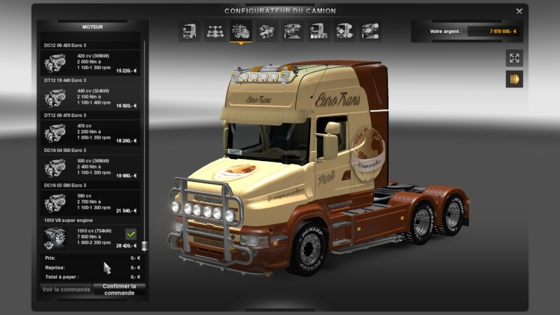 SKIN : Scania T Euro Trans 1010 Ch Ets2_034