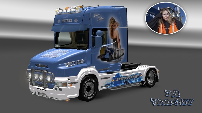 SKIN : Scania T 1010Ch Sexy Lisa Ets2_038