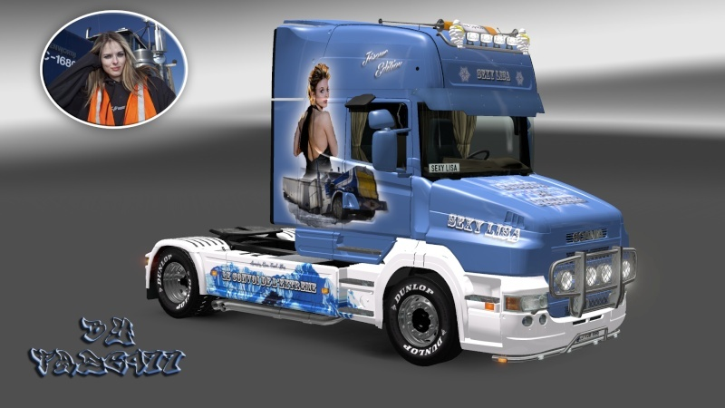 SKIN : Scania T 1010Ch Sexy Lisa Ets2_039