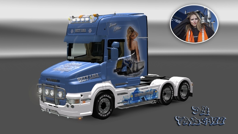 SKIN : Scania T 1010Ch Sexy Lisa Ets2_040