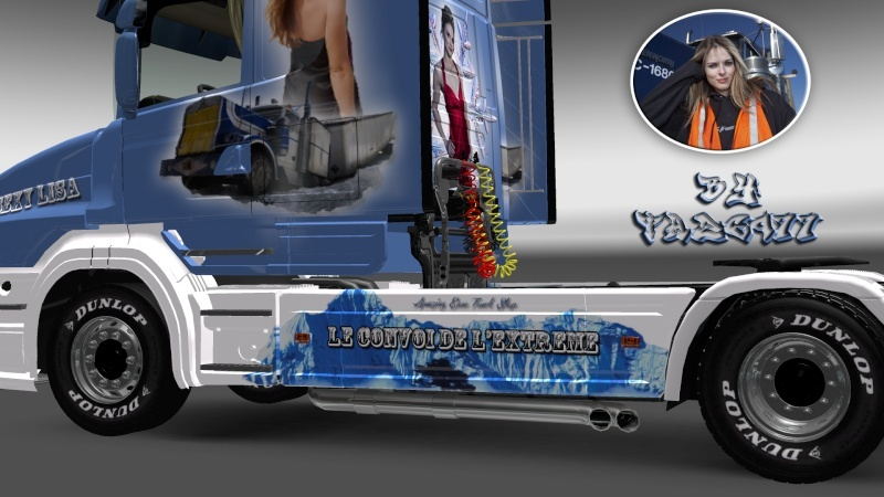 SKIN : Scania T 1010Ch Sexy Lisa Ets2_041