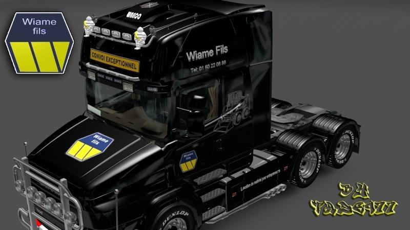 SKIN : Scania T Wiame Convoi Exceptionnel Ets2_045