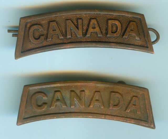 collection insigne canadien  Badged10