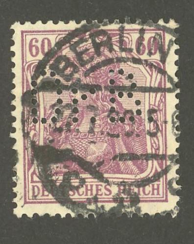 Deutsches Reich   -   Firmenlochungen 01_110