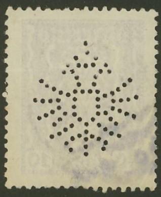 Lochung auf Briefmarken - Perfin - Österreich 01_212