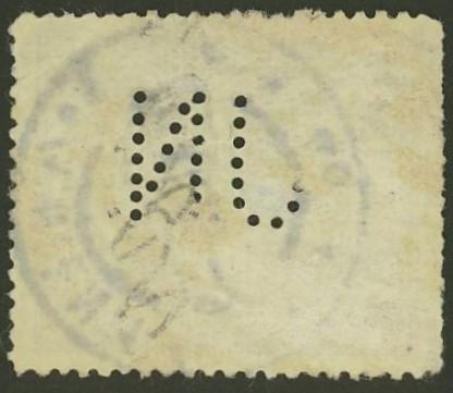 Lochung auf Briefmarken - Perfin - Österreich 02_212