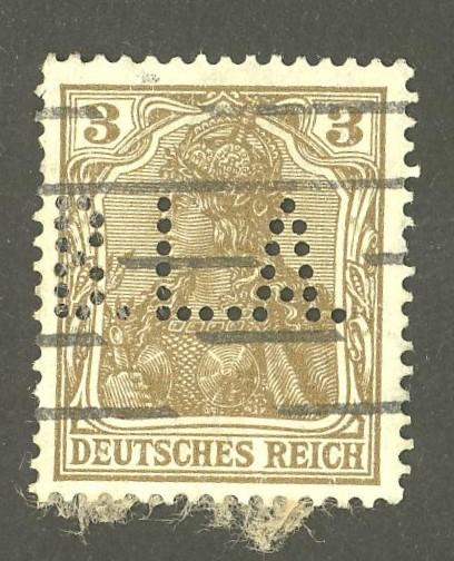 Deutsches Reich   -   Firmenlochungen 03_110