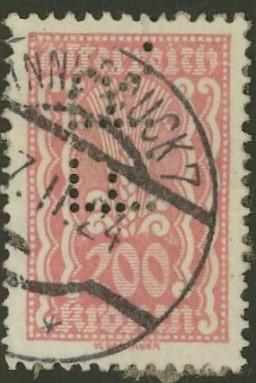 Lochung auf Briefmarken - Perfin - Österreich 04_111