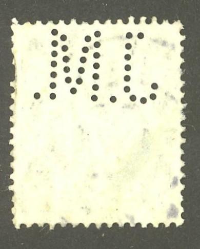 Deutsches Reich   -   Firmenlochungen 04_210