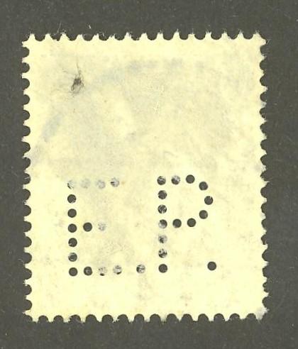 Deutsches Reich   -   Firmenlochungen 06_210