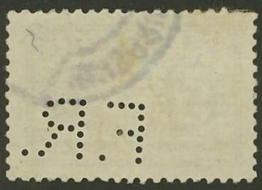Lochung auf Briefmarken - Perfin - Österreich 06_211