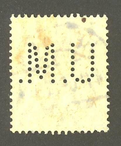 Deutsches Reich   -   Firmenlochungen 07_210
