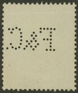 Lochung auf Briefmarken - Perfin - Österreich 07_211