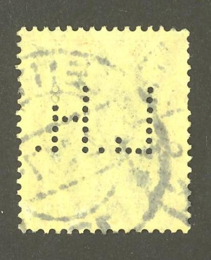 Deutsches Reich   -   Firmenlochungen 08_210