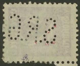 Lochung auf Briefmarken - Perfin - Österreich 08_211