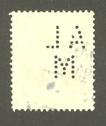Deutsches Reich   -   Firmenlochungen 09_210