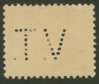 Lochung auf Briefmarken - Perfin - Österreich 09_211