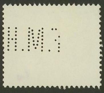 Lochung auf Briefmarken - Perfin - Österreich 10_211