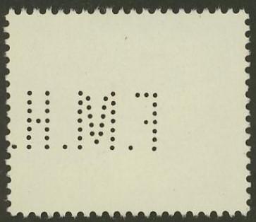 Lochung auf Briefmarken - Perfin - Österreich 11_211