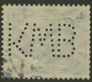 Deutsches Reich   -   Firmenlochungen 13_210