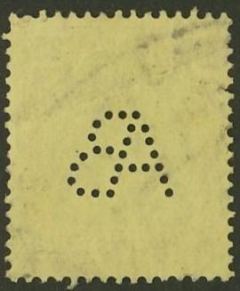 Deutsches Reich   -   Firmenlochungen 17_210