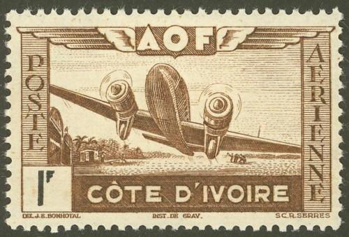 Côte d'Ivoire  -  Elfenbeinküste 19510