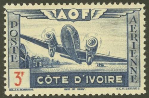 Côte d'Ivoire  -  Elfenbeinküste 19710