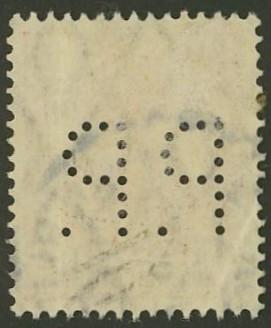 Deutsches Reich   -   Firmenlochungen 20_210