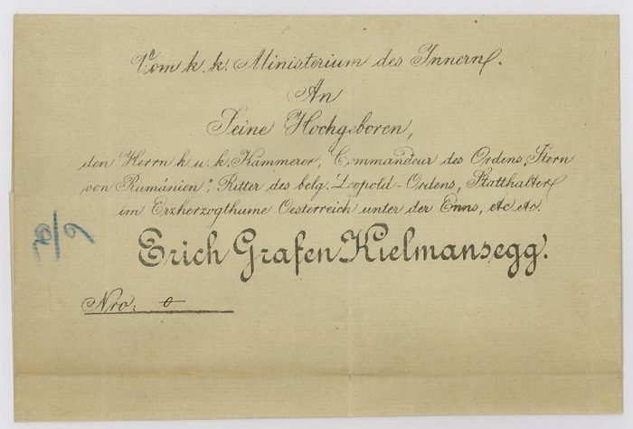 Nachtrag - Vorphilatelie Österreich  -   Briefe aus der Vormarkenzeit Briefh10