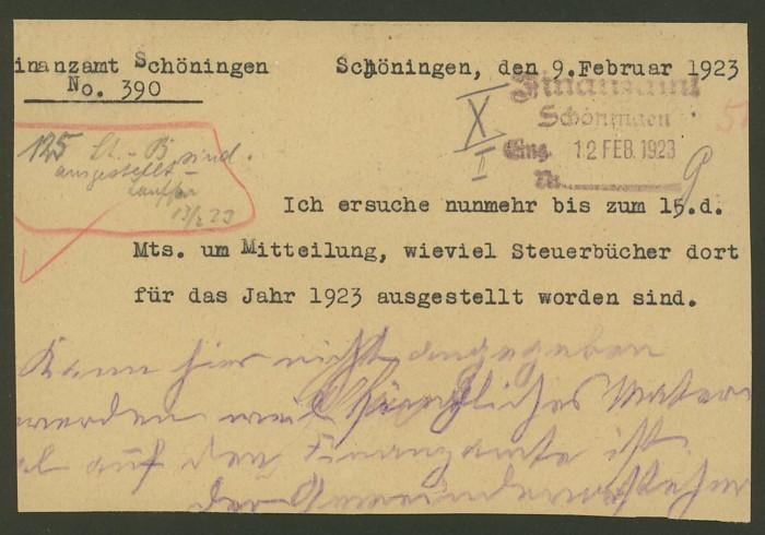 Deutsches Reich  -  Dienstmarken Dienst11