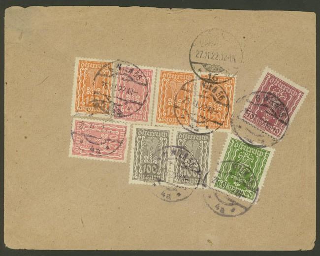 Inflation in Österreich - Belege - 1918 bis 1925 Infla_11
