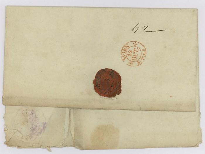 Vorphilatelie Österreich  -   Briefe aus der Vormarkenzeit Lobosi11