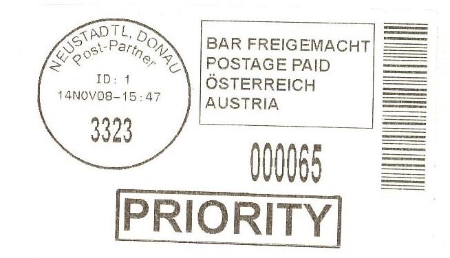 Bar freigemacht  -  Neue Aufkleber Priori10