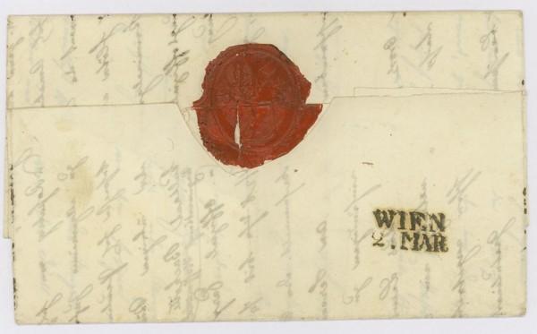 Vorphilatelie Österreich  -   Briefe aus der Vormarkenzeit Sambor11