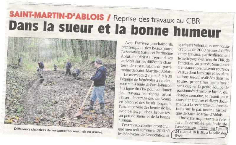 """Les autres Associations """"Histoire & Patrimoine"""" du Pays d'Epernay St-mar10"""