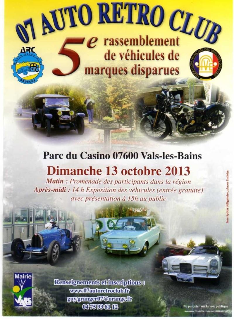 [07] Vals-les Bains le 13/10/2013  Rassemblement d'anciennes Img04510