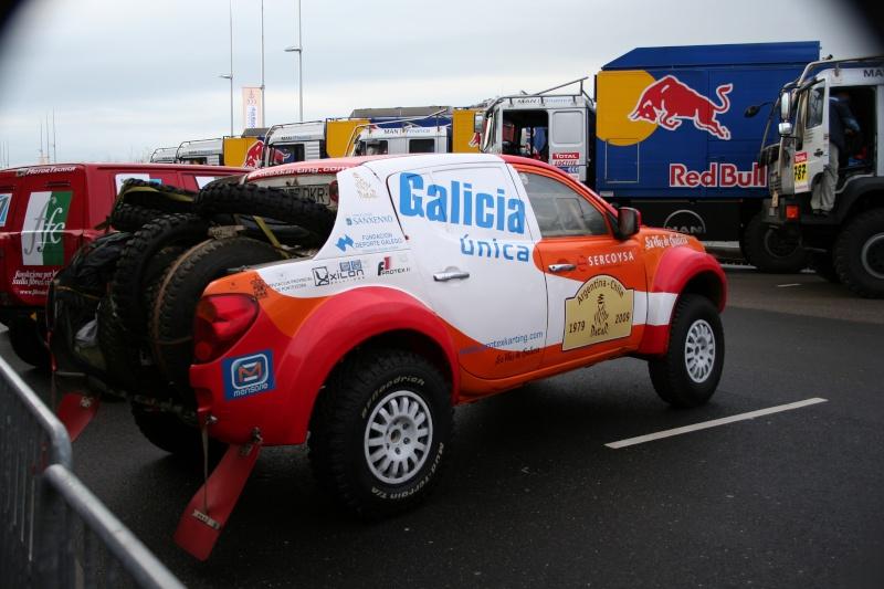verifs - quelques photos des vérifs du Dakar 2009 Dackar15