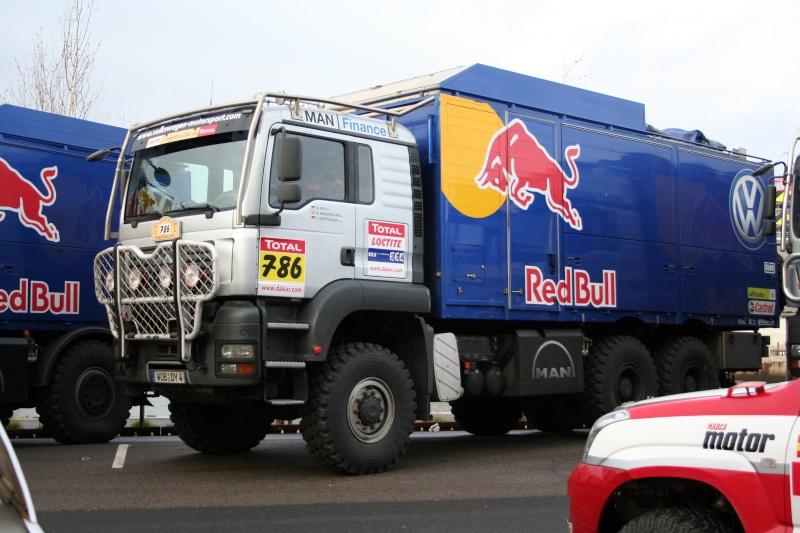 verifs - quelques photos des vérifs du Dakar 2009 Dackar16