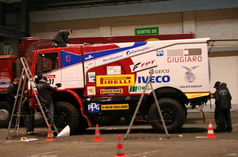 verifs - quelques photos des vérifs du Dakar 2009 Dackar18