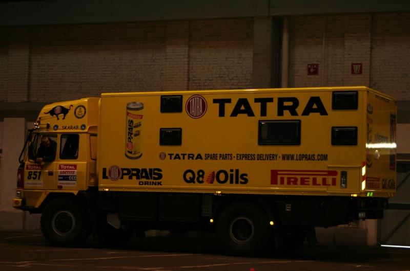 verifs - quelques photos des vérifs du Dakar 2009 Dackar21