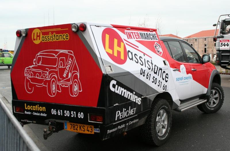 verifs - quelques photos des vérifs du Dakar 2009 Dackar25