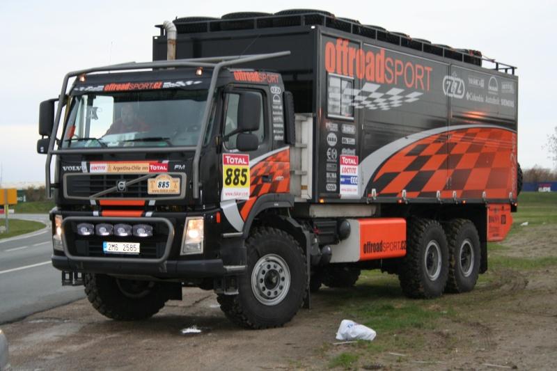 verifs - quelques photos des vérifs du Dakar 2009 Dackar28