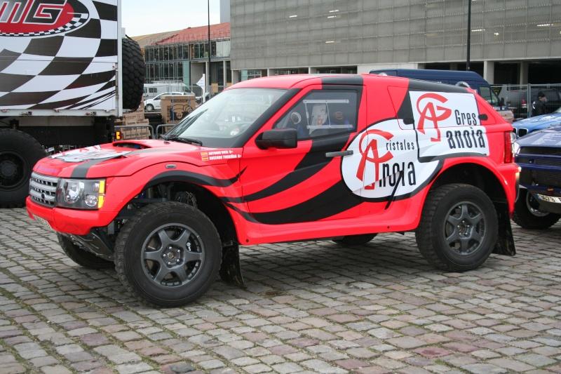 verifs - quelques photos des vérifs du Dakar 2009 Dackar31