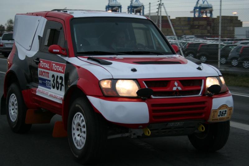 verifs - quelques photos des vérifs du Dakar 2009 Dackar34