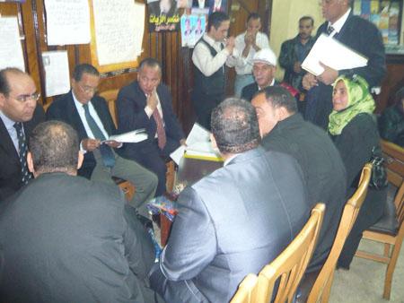 وقفة إحتجاجية علي أعتاب سلم مجلس الدولة بالجيزة P1030217