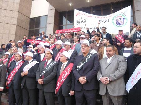 وقفة إحتجاجية علي أعتاب سلم مجلس الدولة بالجيزة P1030225